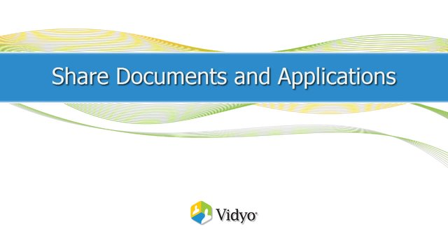 Share Documents & Applications