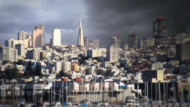 Stormy San Francisco Composite