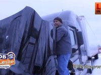 Truck Driver Lavell on The Snow Storms