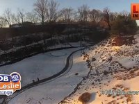 Aerial at Falls Park and Downtown Greenville