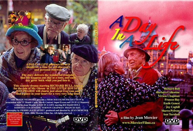 A Day In A Life: A Film for Seniors by Canadian Poet Jean Mercier.  ***** (5/5) A Very Touching Movie. (94 min) - Trailer