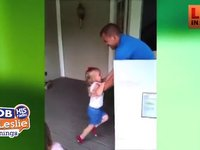 Dad Surprises 3 Year Old Daughter For Birthday