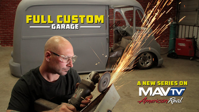 Full Custom Garage - 30 Sec Promo for MAVTV