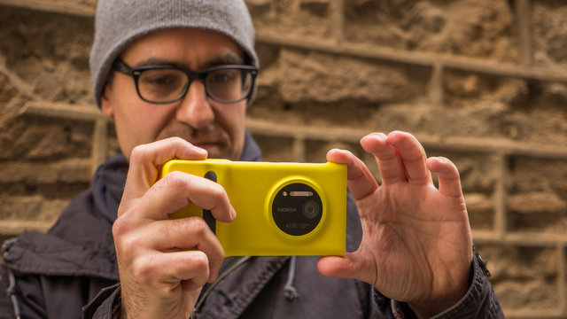 nokia lumia 1020: disparando en raw