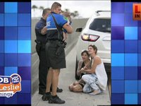 Baby saved on Miami freeway