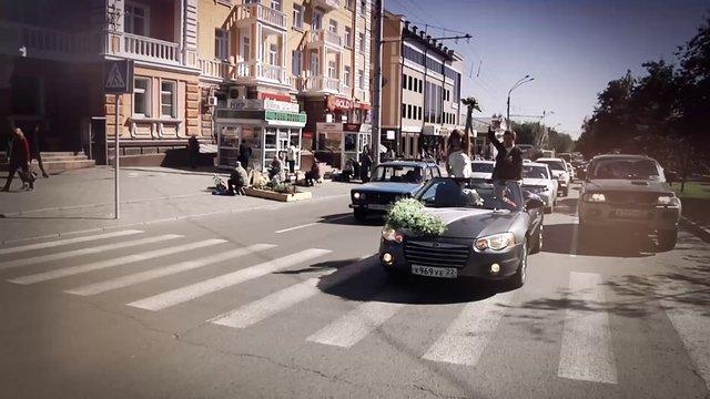 Свадебный видеограф Павел Смирнов, Барнаул