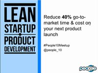Vimeo - Lean Startup - Reduce 40% go-to-market time & cost on your next product launch