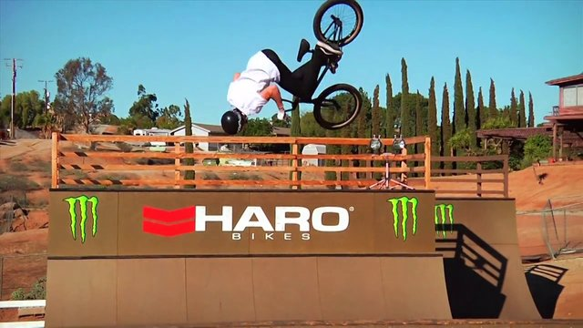 Jack Clark in California for Haro
