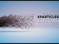 Cinema 4d Tutorial: Cinema4d and Xparticles Tutorial