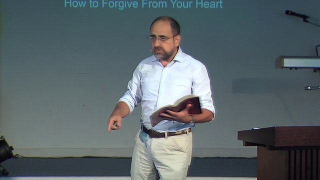 2014 03 01- Eliezer Gonzalez – How to Forgive From Your Heart