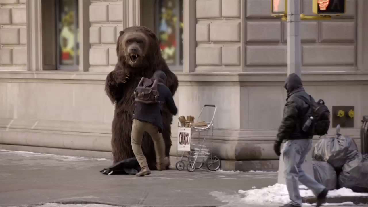 "Chobani ""Hungry Bear Loose in NYC"""
