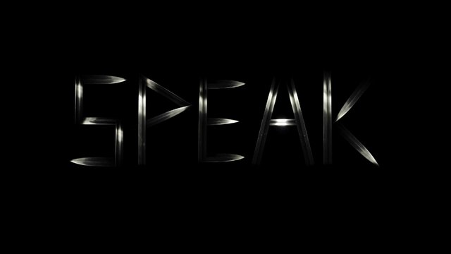 Speak - trailer