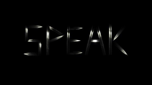 Speak - trailer