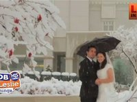 Best Wedding Ever, Even in The Snow