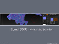 Zbrush3.5 R3: Normal Map Extraction