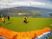 Sicherheitstraining Annecy 05/2013 Paragliding