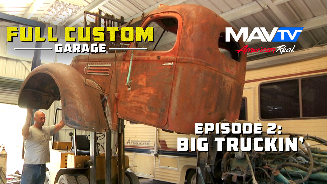 Full Custom Garage : Full custom garage episode big truckin on vimeo
