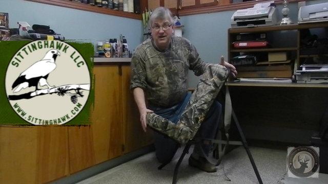 Sitting Hawk - All Terrain Pack Chair