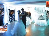 The First Dance is Made Fun By this Bride and Groom