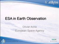 O.Arino: ESA in earth Observation