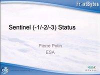 P. Porin: Sentinel (-1/-2/-3) Status