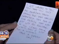 A Woman Pays it Forward and is Given the Sweetest Note