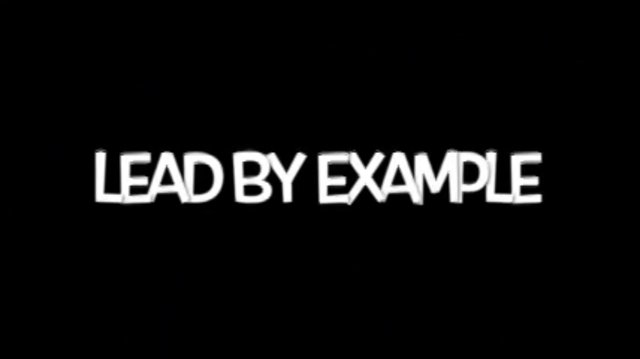 LEAD BY EXAMPLE THE MIXTAPE