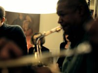 Ethnic Heritage Ensemble: Kahil El'Zabar / Corey Wilkes/ Ernest Khabeer Dawkins Private concert filmed by Les JandJ