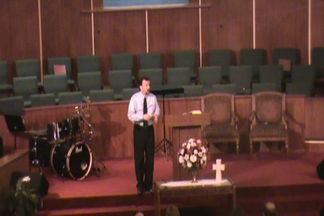 Still image of 2-23-2014 sermon