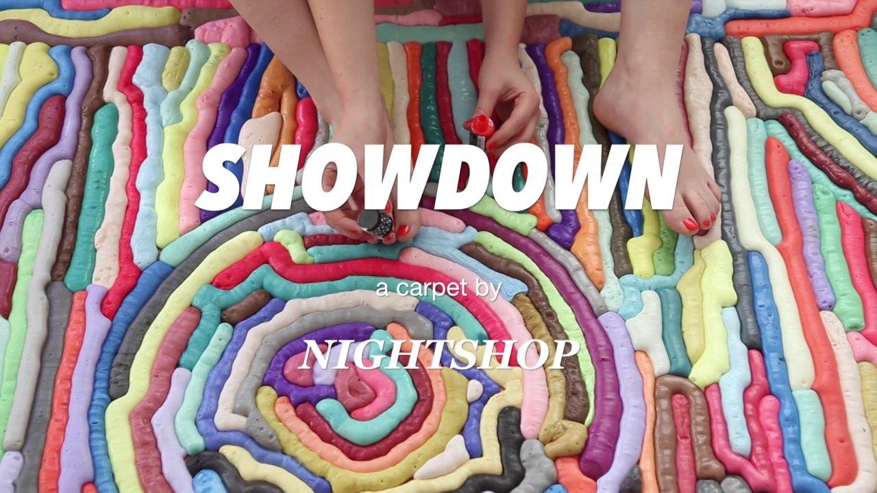 Showdown. A carpet by NIGHTSHOP