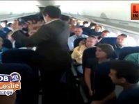 Choir Sings On A Plane