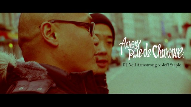 DJ Neil Armstrong x Jeff Staple &#8211; &#8220;Across Rue de Charonne&#8221;