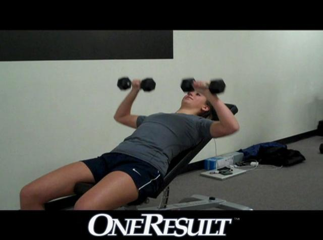 Incline Dumbbell Bench Press on Vimeo