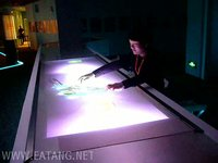 3 meters of multi-touch table mall shopping guide
