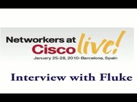 Cisco Live - Interview with Fluke