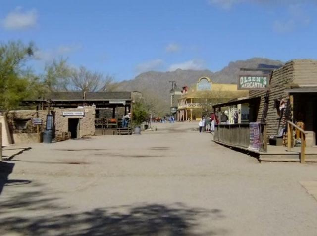Old Tucson Movie Lot