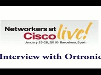 Cisco Live - Interview with Ortronics