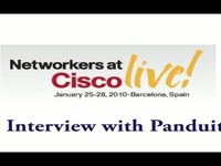 Cisco Live - Interview with Panduit