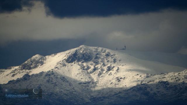 Timelapse: Nubes sobre la cumbre de La Maliciosa y Bola del Mundo (I)