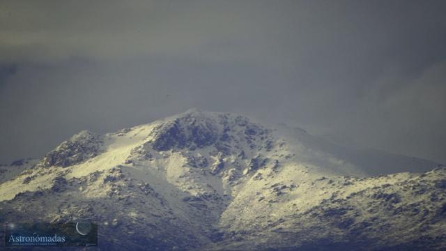 Timelapse: Nubes sobre la cumbre de La Maliciosa y Bola del Mundo (II)