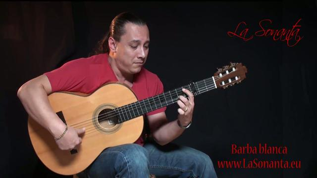 Free Flamenco Guitar lesson with tabs: Buleria falseta from Rafael Cortes on a Barba