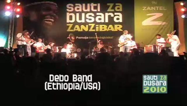 Ethiopia/USA at Sauti za Busara