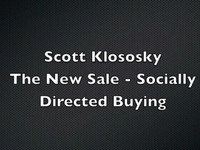 The New Sale - Socially Directed Buying