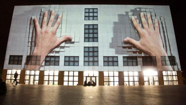 555 KUBIK | facade projection