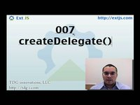 thumbnail for Create Delegate and Scope Screencast on Sencha Learn