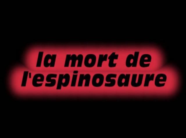 La mort de l 39 espinosaure on vimeo - Cuisiner trompette de la mort ...