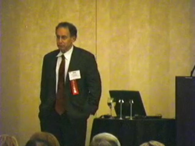 Spotlight MIT 2007 - Dr. Robert S. Langer - Q&A Session