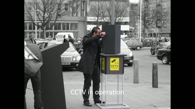 CCTV sousveillance in operation