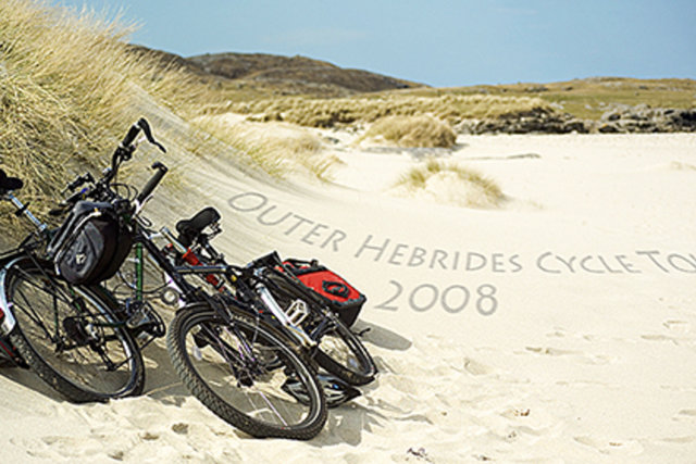 Cycle tour To the Outer Hebrides 2008