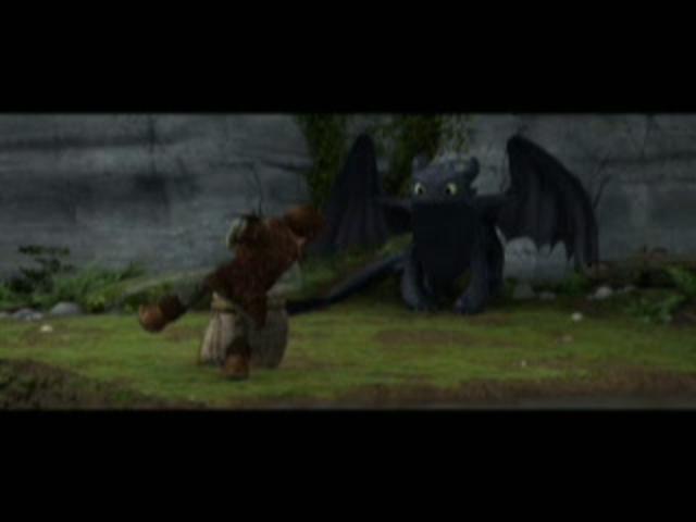 Escena 1 de Cómo entrenar a tu dragón